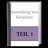 Sammlung von Gesetzen. Teil 1