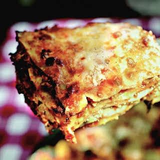 Turducken Lasagna With Fresh Ricotta.