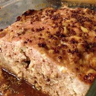 Glazed Tofu Meatloaf.