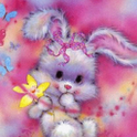 Adorable Easter Bunny Live Wal icon