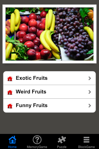 Challenging Fruits Game