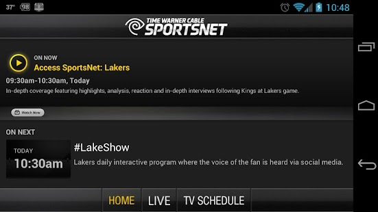 TWC SportsNet - screenshot thumbnail