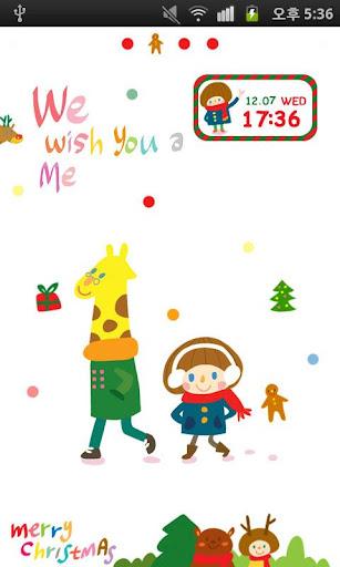 【免費娛樂App】CUKI Theme OKAYTINA Merry Xmas-APP點子