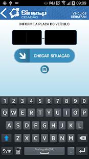 Sinesp Cidadão - screenshot thumbnail