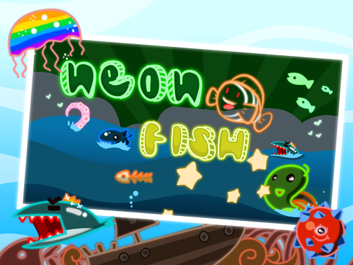 Swim on Neon - Glow Fish Run 2