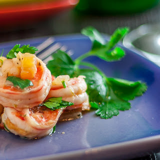 Shrimp with Tomatoes and Onions