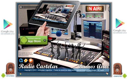 Radio Castelar Tablet