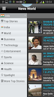 Screenshot of News World