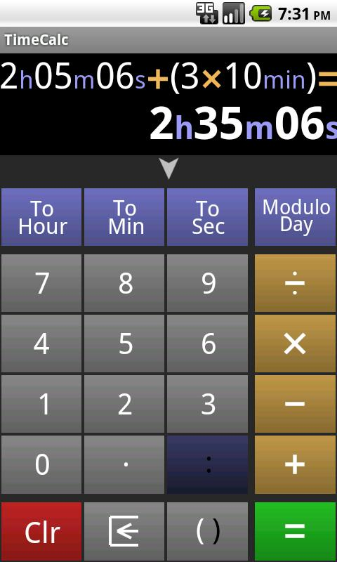 time calculator for work