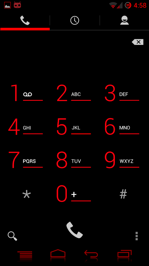 RED Jelly Lite CM10.1 Theme- screenshot