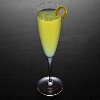 Champagne Cobbler