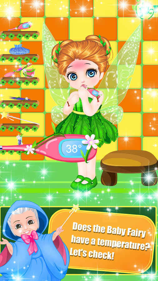 Little Fairy Care and Dress Up- screenshot