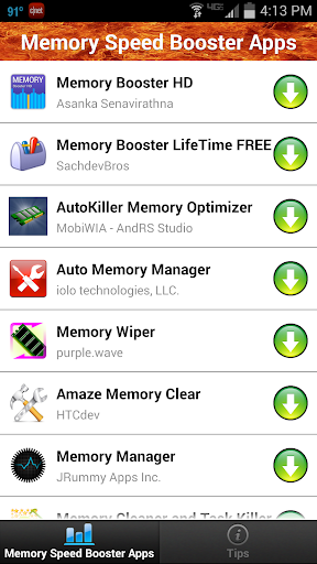 Memory Speed Booster