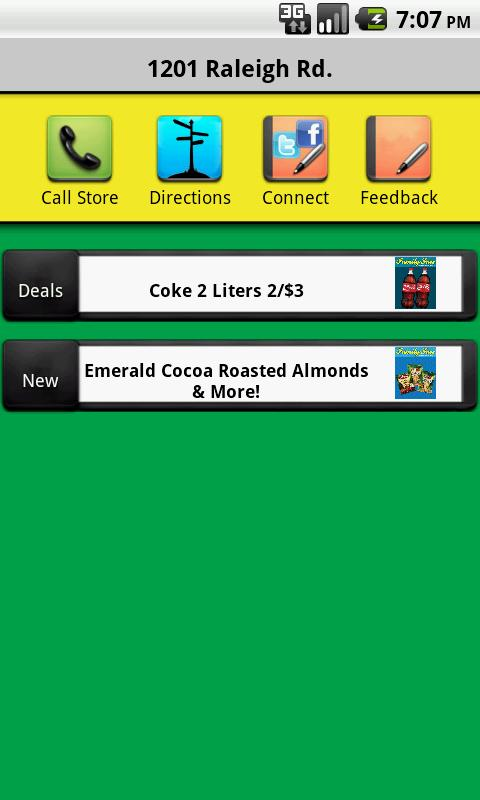 Family Fare Convenience Stores - screenshot