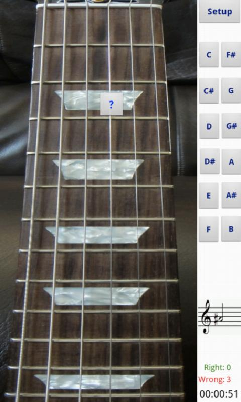 electric guitar fretboard android apps on google play. Black Bedroom Furniture Sets. Home Design Ideas