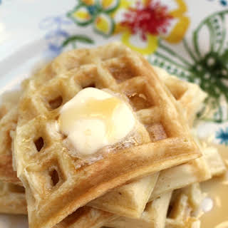 Sunday Morning Buttermilk Waffles.