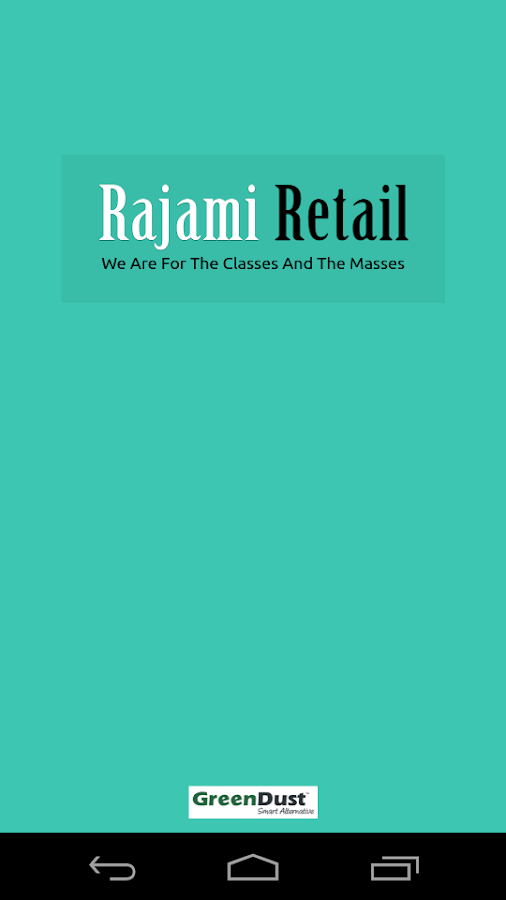 Rajami Retail- screenshot