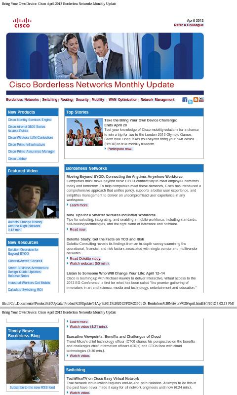 Enterprise Networks - screenshot