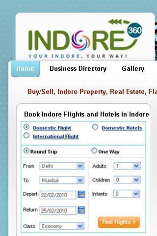 Indore City- screenshot