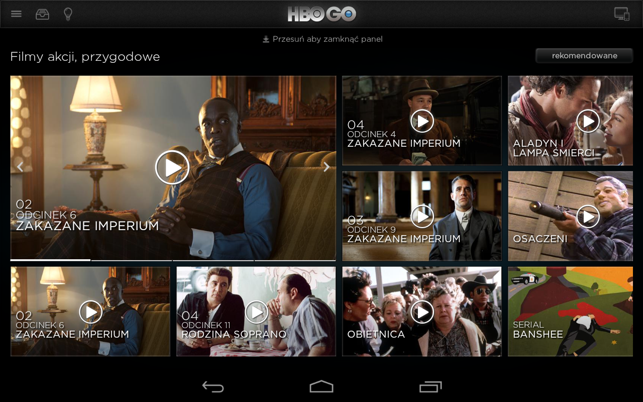 HBO GO Poland - screenshot