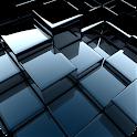 Black Cubes Parallax LWP icon