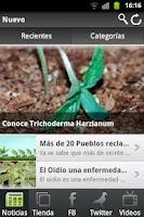 Screenshot of News of marijuana seeds