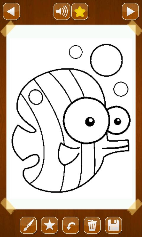 Coloring Pages App Android : Animals color book lite android apps on google play