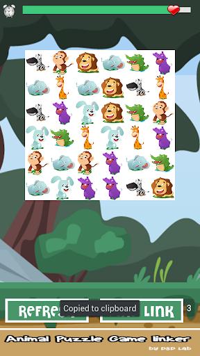 Animal Puzzle Game Linker Free