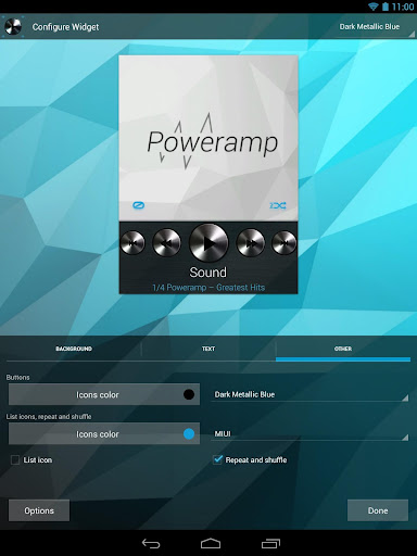 Widgets Kit for Poweramp  screenshots 3