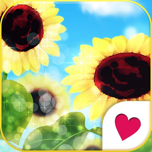 可愛換裝桌布★Sunny flower 個人化 App LOGO-APP試玩
