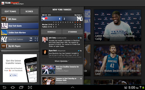 Bleacher Report: Team Stream Screenshot 7