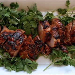 Soy-Marinated Grilled Pork Tenderloin.