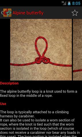 Useful Knots - Tying Guide Screenshot