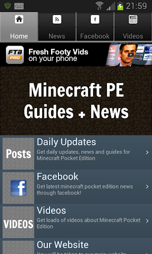 News Guides For Minecraft PE