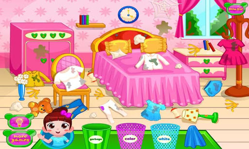 Clean Up Girl Room