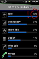 Screenshot of WiFi Auto OFF