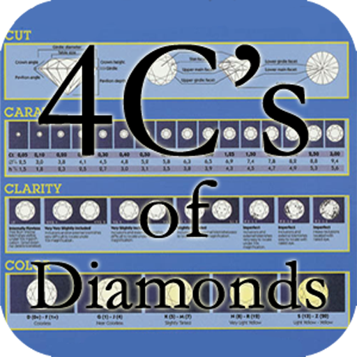 4C's of Diamonds LOGO-APP點子