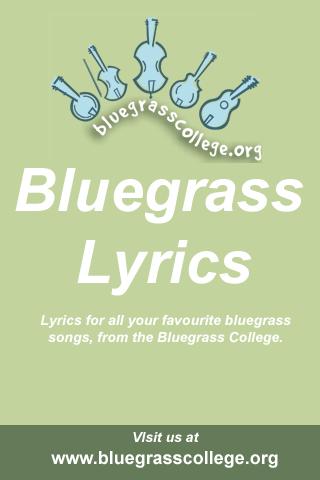 Bluegrass Song Lyrics