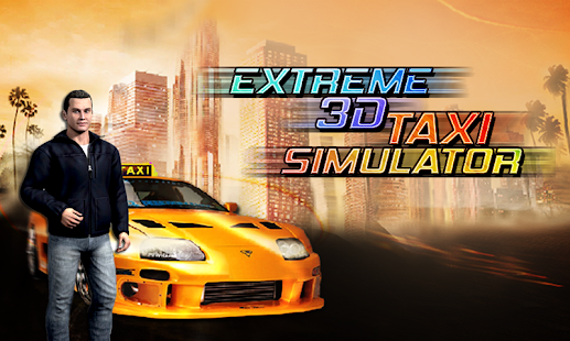 Extreme 3D Taxi Simulator screenshot
