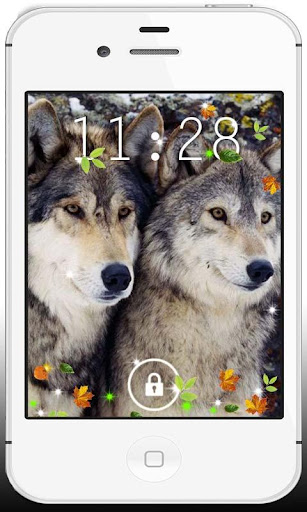 Wolf Love HD live wallpaper