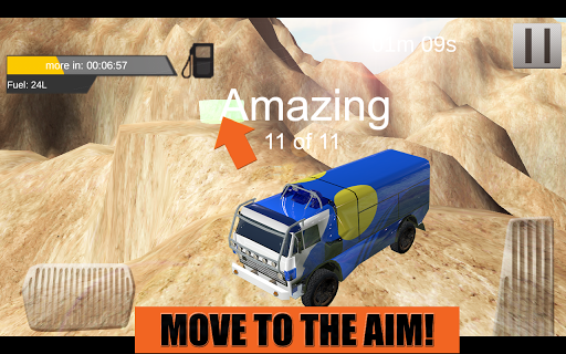 Offroad Mountain Truck