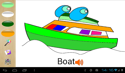 Cars Coloring Pages Kid Games Screenshot Thumbnail