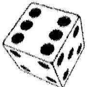 Fortune telling dice
