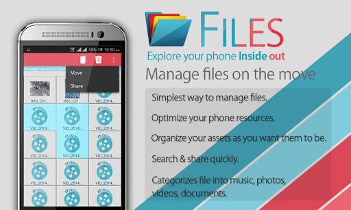 Files -Search explore manage