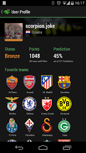 Soccer / Football Live Scores - screenshot thumbnail