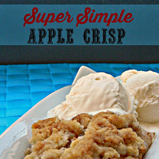 Super Simple Apple Crisp