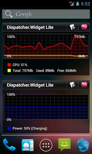 Dispatcher.Widget Lite