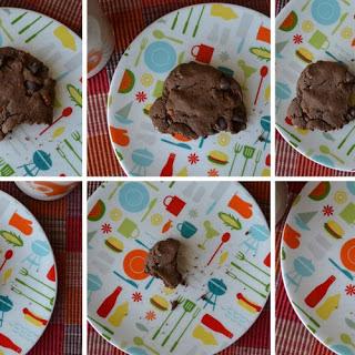 Double Dark Chocolate Coconut Pecan Cookies.