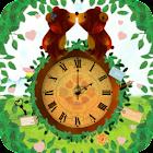 絵本のクマさん・アナログ時計ウィジェット icon
