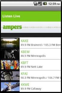 Ampers Radio- screenshot thumbnail